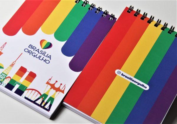 bloco de anotações Brasília Orgulho