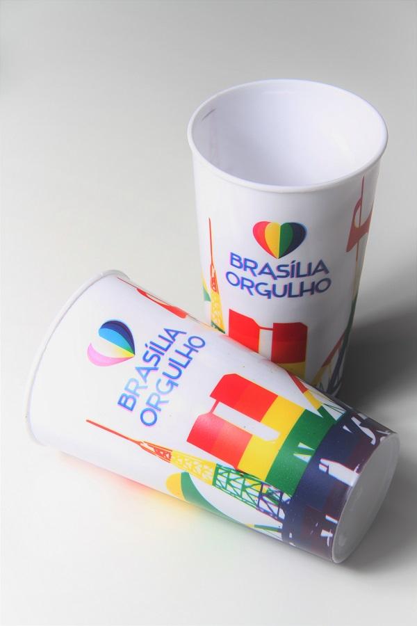 Copo Brasília Orgulho branco