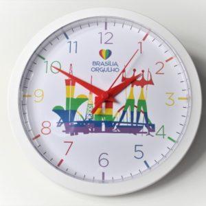 Relógio de parede Brasília Orgulho
